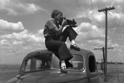 """Dorothea Lange in Texas on the Plains Circa 1935"""